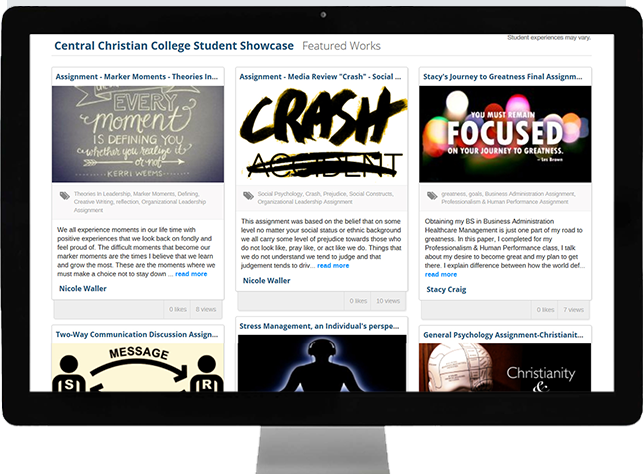 Central Christian College of Kansas Student Showcase