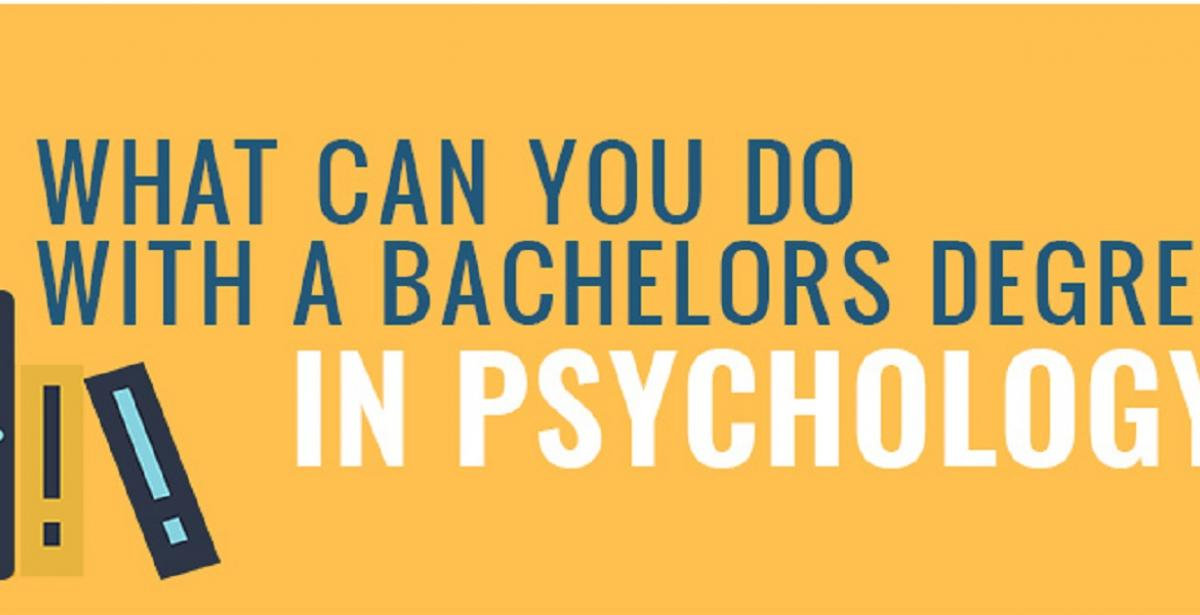 Degree In Psychology >> Infographic What Can You Do With A Bachelor S Degree In